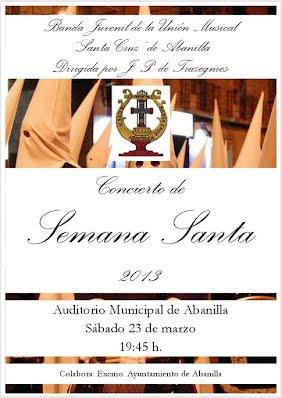 Cartel Concierto Semana Santa 2013