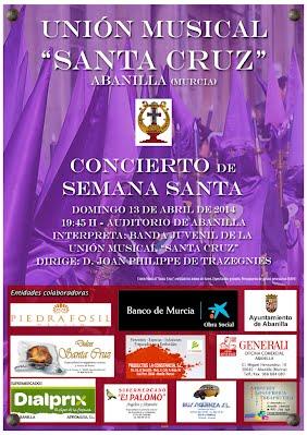 Cartel Concierto Semana Santa 2014