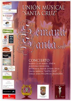 Cartel Concierto Semana Santa 2016