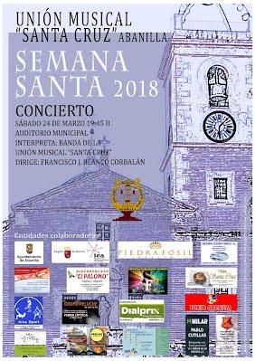 Cartel Concierto de Semana Santa 2018