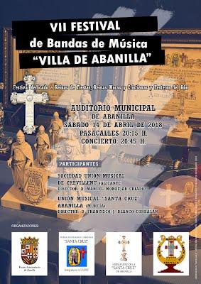Cartel VII Festival de Bandas de Música Villa de Abanilla