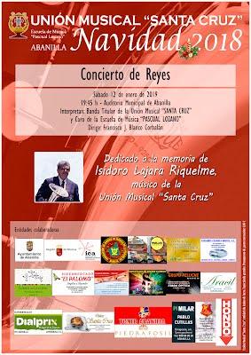 Cartel Concierto de Reyes 2019